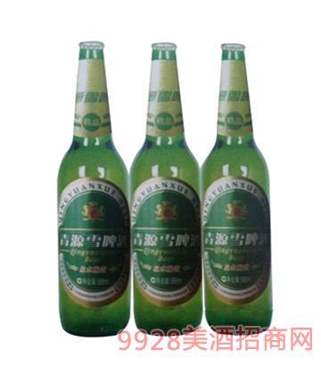青源雪啤酒10°500ml