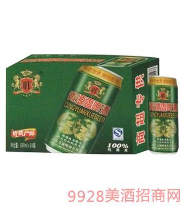 青源雪啤酒8°500mlx24罐