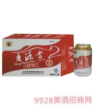 青源雪啤酒10°330mlx24罐