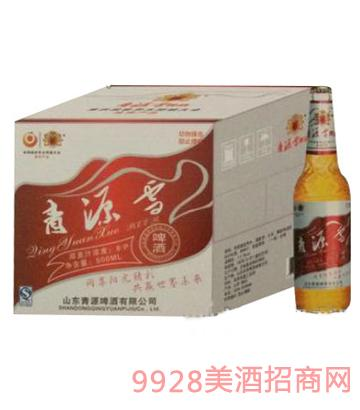 青源雪啤酒10°500mlx12瓶