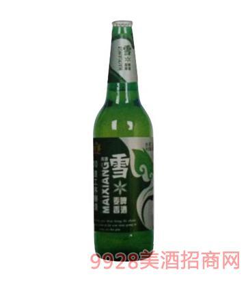 青源雪啤麦香8°啤酒500ml