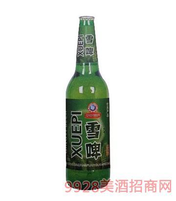 青邑雪啤8°啤酒500ml