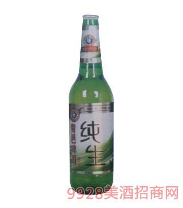 青邑纯生啤酒10°500ml