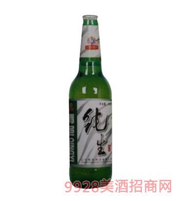 青邑纯生啤酒8°500ml