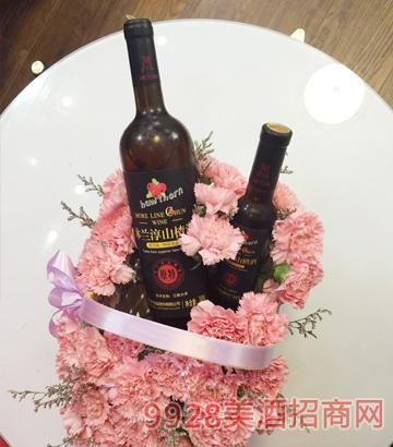 沐兰淳山楂酒740ml