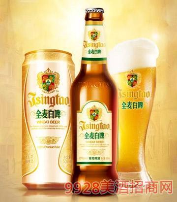 青岛啤酒全麦白啤