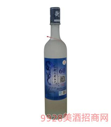 卧龙泉衡大大磨砂60度酒500ml