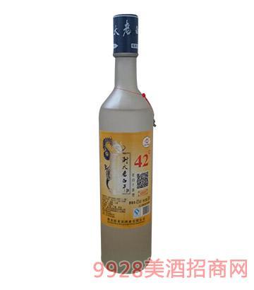 卧龙泉衡大大磨砂酒500ml