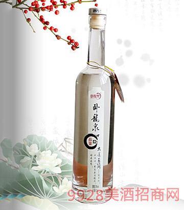 39°卧龙泉品鉴500ml浓香型白酒