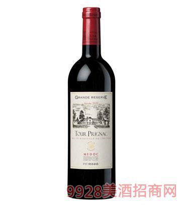 珍藏级坡立曼酒庄干红葡萄酒(2008)