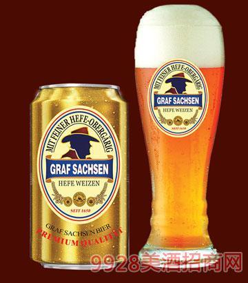 萨克森伯爵浑浊型小麦啤酒