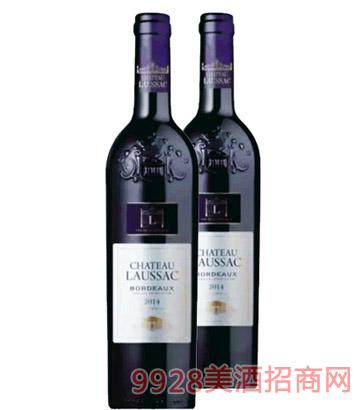 路萨克干红葡萄酒13.5度750ml