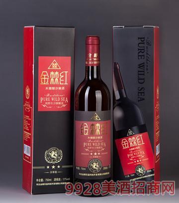 11度金棘红木糖醇沙棘酒-分享级750ml