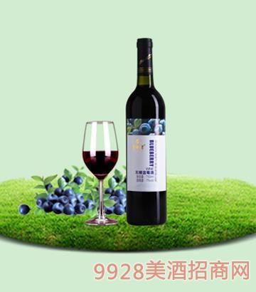 750ml百年誉·无糖蓝莓酒7度