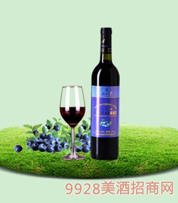 750ml百年誉·甜型蓝莓酒11度