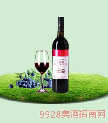 750ml百年誉·干红蓝莓酒11度