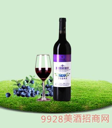 750ml百年誉·干红蓝莓酒10度