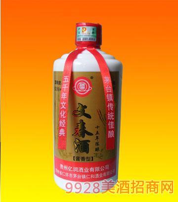 文春酒十五年陈酿(瓶)
