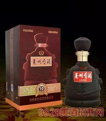 亳州贡酒10年52度 500ml