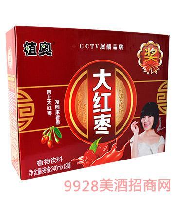 植奥大红枣植物饮料240mlx12