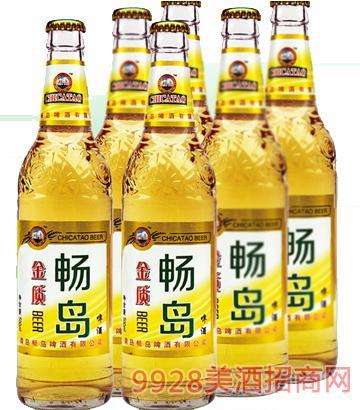 畅岛金质啤酒
