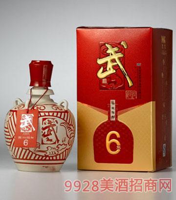 普康坛藏6年酒