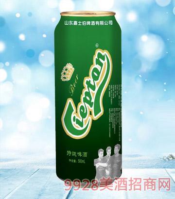 嘉士伯冰纯系列啤酒特纯10°P500ml
