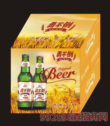 勇不倒中国梦啤酒箱装