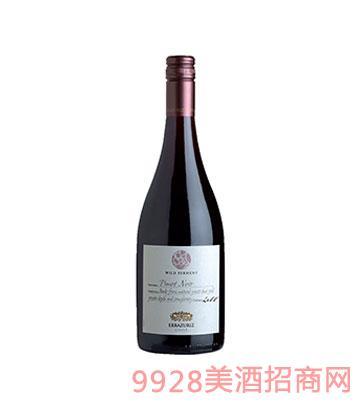 单一庄园野生酵母发酵黑皮诺干红葡萄酒2011