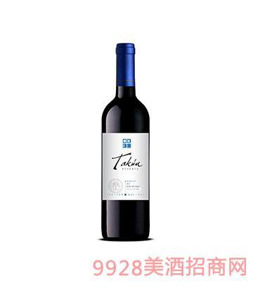 塔昆珍藏美乐干红葡萄酒2013