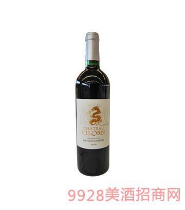 西龙河古堡干红2010葡萄酒