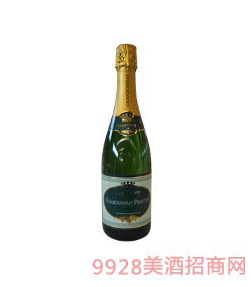 尊贵路易霞多丽干型气泡酒2012