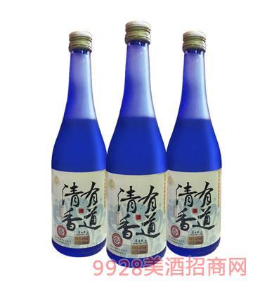 清香有道酒(蓝)