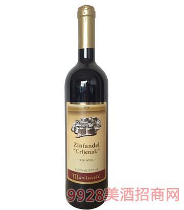 城堡仙粉黛精选干红葡萄酒