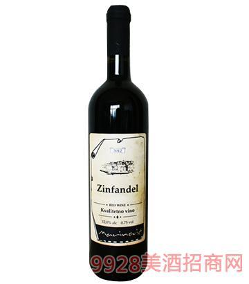 城堡仙粉黛干红葡萄酒