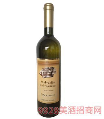 城堡玛尔维萨干白葡萄酒