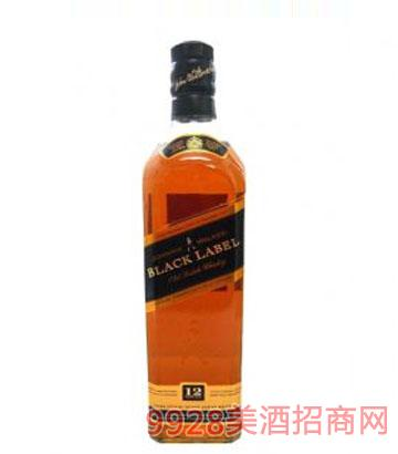 尊尼获加黑方威士忌BlackLabel