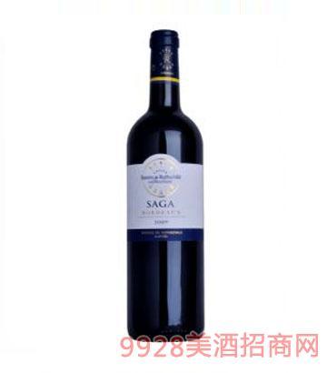 拉菲传说波尔多干红葡萄酒
