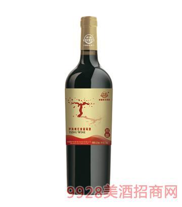 伊珠晚红蜜秋酿葡萄酒