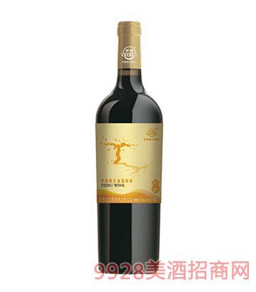 伊珠晚红蜜秋韵葡萄酒