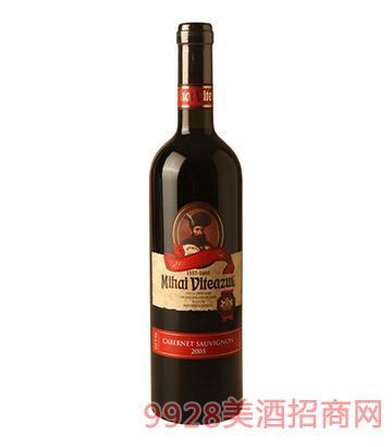 米哈依系列嘉伯納白頌維翁干紅葡萄酒