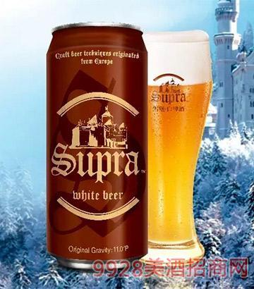 雪堡白啤酒