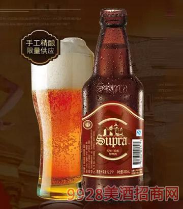 雪堡精酿红啤酒