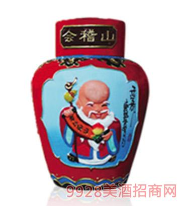会稽山十年陈盒浮雕