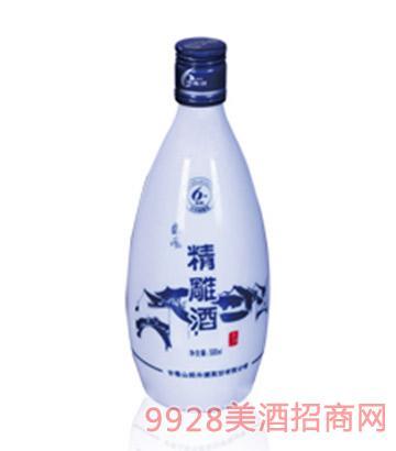 东风六年陈酿精雕酒