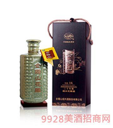 会稽山臻藏30年陈绍兴花雕酒2.5L