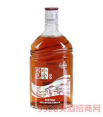 会稽山水乡国色黄酒(银)