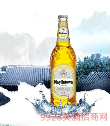美林小镇啤酒大瓶