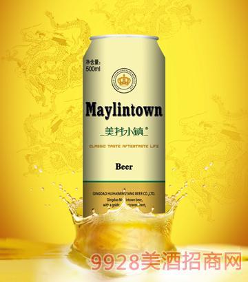 美林小镇啤酒10度500ml拉罐