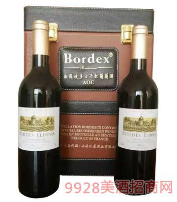 法国波多士干红葡萄酒